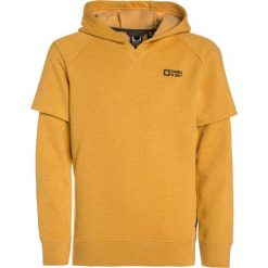 Tumble 'n dry BOYN Bluza z kapturem dijon. Brązowe bluzy chłopięce rozpinane marki Tumble 'n dry, z bawełny, z kapturem. W wyprzedaży za 141,75 zł.