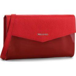 Torebka BELLUCCI - R-391 Czerwona Groszek/Lak. Czarne torebki klasyczne damskie marki Bellucci. W wyprzedaży za 219,00 zł.