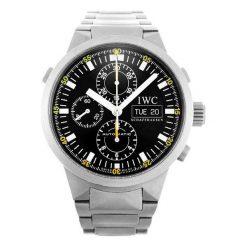 ZEGAREK IWC SCHAFFHAUSEN GST IW371503. Czarne zegarki męskie marki IWC SCHAFFHAUSEN. Za 42900,00 zł.