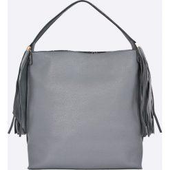 Nobo - Torebka. Szare torebki klasyczne damskie marki Nobo, z materiału, duże. W wyprzedaży za 99,90 zł.