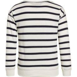 Polo Ralph Lauren STRIPE  Bluza clubhouse cream/hunter navy. Niebieskie bluzy dziewczęce Polo Ralph Lauren, z bawełny. Za 319,00 zł.