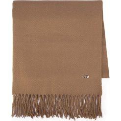 Szal damski 87-7D-X99-5. Brązowe szaliki damskie Wittchen, na zimę, z materiału. Za 149,00 zł.