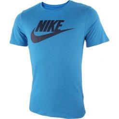 Koszulka sportowa męska NIKE SPORTSWEAR TEE ICON FUTURA / 696707-435. Niebieskie koszulki sportowe męskie marki Nike, m. Za 75,00 zł.
