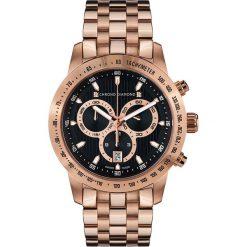 """Zegarki męskie: Zegarek kwarcowy """"Theseus"""" w kolorze różowozłoto-czarnym"""