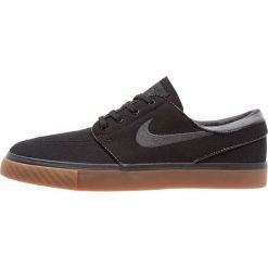 Nike SB ZOOM STEFAN JANOSKI  Tenisówki i Trampki black/anthracite/medium brown. Czarne tenisówki męskie Nike SB, z materiału. Za 359,00 zł.