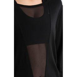Reebok Bluzka z długim rękawem black. Czarne bluzki longsleeves Reebok, l, z bawełny, sportowe. Za 169,00 zł.