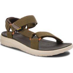 Sandały TEVA - Sanborn Universal 1015156 Olive. Zielone sandały męskie Teva, z materiału. W wyprzedaży za 199,00 zł.