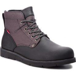 Kozaki LEVI'S - 225129-884-60 Brilliant Black. Brązowe buty zimowe męskie marki Levi's®, z bawełny. W wyprzedaży za 279,00 zł.