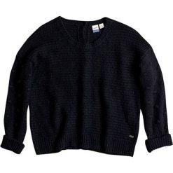 """Sweter """"Rest"""" w kolorze czarnym. Czarne swetry klasyczne damskie marki Roxy, l, z dzianiny, z dekoltem na plecach. W wyprzedaży za 146,95 zł."""
