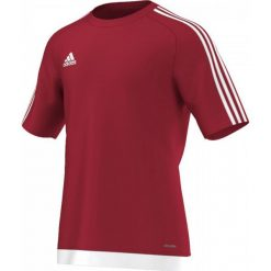 T-shirty męskie: Adidas Koszulka piłkarska męskie Estro 15 czerwono-biała r. M (S16149)