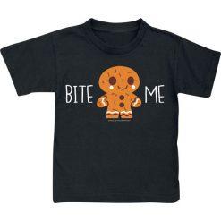 T-shirty damskie: Bite Me Koszulka dziecięca czarny