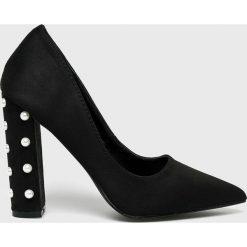 Medicine - Czółenka Essential. Czarne buty ślubne damskie MEDICINE, z materiału, na obcasie. Za 119,90 zł.
