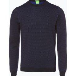 Swetry klasyczne męskie: BOSS Athleisure – Sweter męski – C-Conny_01, czarny