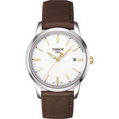 RABAT ZEGAREK TISSOT T-CLASSIC T033.410.26.011.01. Białe zegarki męskie TISSOT, ze stali. W wyprzedaży za 589,60 zł.