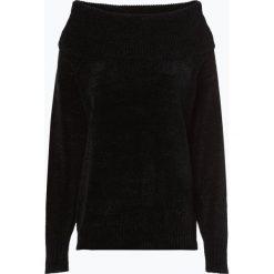 Vila - Sweter damski – Vichenni, czarny. Czarne swetry klasyczne damskie Vila, l, z kontrastowym kołnierzykiem. Za 159,95 zł.