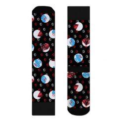 Skarpety Happy Socks x Billionaire Boys Club (ATBBC27-9000). Czarne skarpetki męskie Happy Socks, z bawełny. Za 34,99 zł.