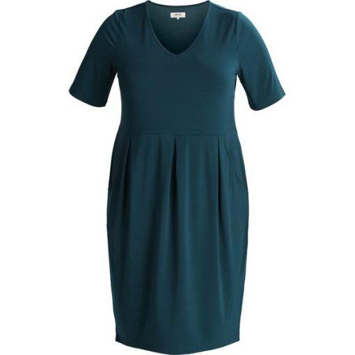 9fecc020f1 Zalando Essentials Curvy Sukienka z dżerseju deep teal - Zielone ...
