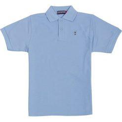 T-shirty chłopięce z krótkim rękawem: Koszulka polo w kolorze błękitnym