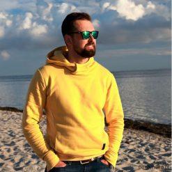 Bluza CLASSIC musztardowa. Czarne bluzy męskie marki Pakamera, m, z kapturem. Za 219,00 zł.