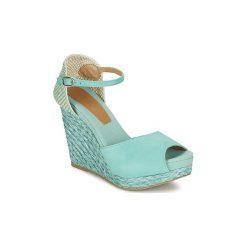 Sandały Betty London  EGALIFE. Niebieskie sandały damskie marki Betty London. Za 279,20 zł.