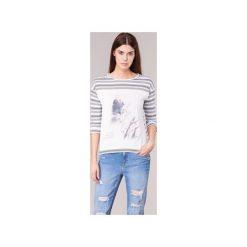 T-shirty z długim rękawem S.Oliver  JIVATOULE. Białe t-shirty damskie S.Oliver, s. Za 143,20 zł.
