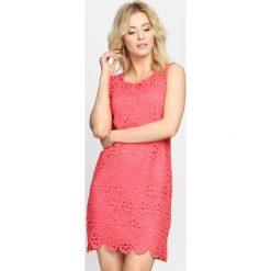 Sukienki: Koralowa Sukienka Blackout
