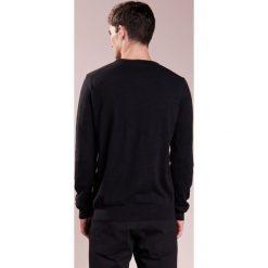 Kardigany męskie: BOSS CASUAL AKHUB Sweter black