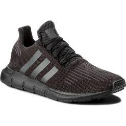 Buty adidas - Swift Run J CM7919 Cblack/Utiblk/Cblack. Czarne buty sportowe damskie marki Adidas, z kauczuku. W wyprzedaży za 209,00 zł.