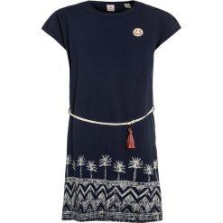 Sukienki dziewczęce z falbanami: Scotch R'Belle LOOSE FIT DRESS WITH PLACED PRINT Sukienka z dżerseju indigo