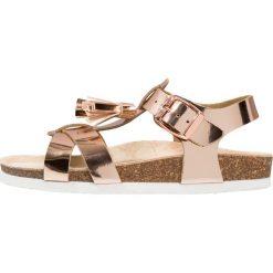Friboo Sandały rose gold. Czerwone sandały chłopięce marki Friboo, z materiału. Za 129,00 zł.
