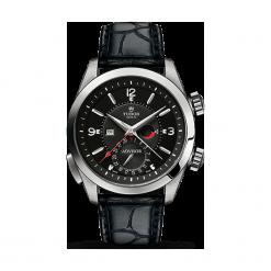 ZEGAREK TUDOR HERITAGE ADVISOR 79620TN BLACK ALIGATOR STRAP. Czarne zegarki męskie TUDOR, ze stali. Za 25190,00 zł.