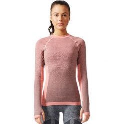 Adidas Koszulka Seamless LS różowy r. S (BR6396). Czerwone topy sportowe damskie marki Adidas, s. Za 279,90 zł.