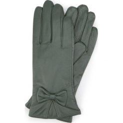 Rękawiczki damskie 39-6-550-Z. Brązowe rękawiczki damskie marki Wittchen, z polaru. Za 99,00 zł.