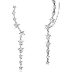 Kolczyki damskie: Zjawiskowe Kolczyki Srebrne - srebro 925, Cyrkonia