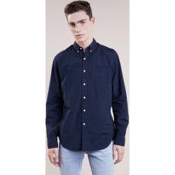 Koszule męskie na spinki: J.CREW GARMENT DYE SOLID Koszula vintage indigo