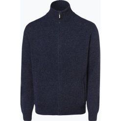 Mc Earl - Kardigan męski, niebieski. Niebieskie swetry rozpinane męskie Mc Earl, l, z wełny. Za 179,95 zł.