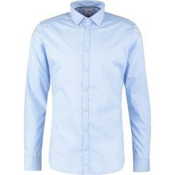 Koszule męskie na spinki: Seidensticker EXTRA SLIM  Koszula biznesowa hellblau