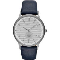 Emporio Armani - Zegarek AR11119. Czarne zegarki męskie marki Fossil, szklane. Za 999,90 zł.