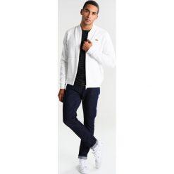 Lacoste LIVE Bluza rozpinana flour. Białe bluzy męskie rozpinane marki Lacoste LIVE, m, z bawełny. Za 469,00 zł.