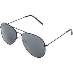 Matt Pilot Okulary przeciwsłoneczne czarny matowy. Czarne okulary przeciwsłoneczne damskie lenonki Matt Pilot, pilot. Za 24,90 zł.