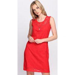 Sukienki: Czerwona Sukienka Wise Decision