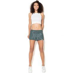 Spodnie sportowe damskie: Colour Pleasure Spodnie damskie CP-020 237 zielone r. XL/XXL