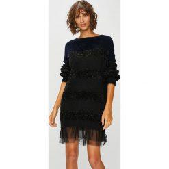 Liu Jo - Sukienka. Czarne sukienki dzianinowe marki numoco, l, z długim rękawem, maxi, oversize. Za 1099,00 zł.