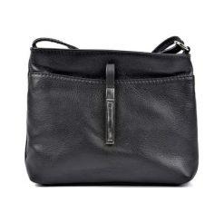 Torebka w kolorze czarnym - (S)22 x (W)18 x (G)5 cm. Czarne torebki klasyczne damskie Bestsellers bags, w paski, z materiału. W wyprzedaży za 159,95 zł.
