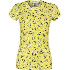 Looney Tunes Tweety - Repeat Koszulka damska żółty. Żółte bluzki damskie Looney Tunes, m, z nadrukiem, z okrągłym kołnierzem. Za 42,90 zł.