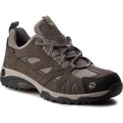 Trekkingi JACK WOLFSKIN - Vojo Hike Texapore Women 4011391-4011035 Parrot Green. Czarne buty trekkingowe damskie marki Jack Wolfskin, w paski, z materiału. W wyprzedaży za 289,00 zł.