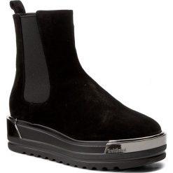Botki BALDININI - 803042A13ZCRUS Crosta N. Czarne buty zimowe damskie Baldinini, ze skóry. W wyprzedaży za 1079,00 zł.