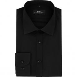 Koszula APOLLO 15-11-15-K. Czarne koszule męskie na spinki marki Cropp, l. Za 199,00 zł.