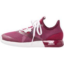 Buty sportowe damskie: adidas Performance ADIZERO DEFIANT BOUNCE Obuwie multicourt mystery ruby/footwear white/rednit