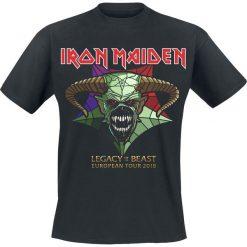 T-shirty męskie z nadrukiem: Iron Maiden LOTB 2018 Retail Tee T-Shirt czarny
